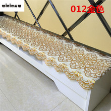 European style PVC TV cabinet tablecloth Coffee table mats Bedside cabinets Dressing table Shoe cabinet dust cover cloth
