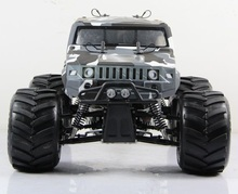 Rovan 1/5 Truck Bigfoot Hummer BM305 CAR Big Monster 4WD 30.5cc Gasoline Powerful Engine 1/5 Rc Car(China)