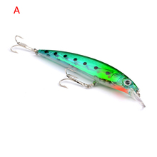 1Pcs New 10 Colors Superior Quality Fishing 11cm / 13.4G Fishing Bait Minnow DG-025A