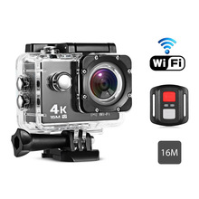 Portable Mini WiFi Action Camera Waterproof 1080P/60FPS 170 Degree HD Lens Sport Diving DV Video Camcorder DVR W/Remote Watch(China)