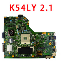 Women's day 3.8 laptop Motherboard K54LY Main Board REV2.0 / REV : 2.1 Fit For Asus K54LY K54HR X54H NOTEBOOK PC