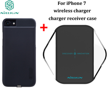 For iPhone 7 wireless Charger Original NILLKIN Magic cube charger With charger receiver 4.7 inch back cover case