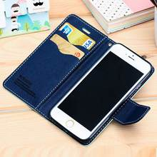 Buy Magnetic Book Wallet Flip Case Cover Stand iPhone 6 6S Plus PU Leather Cell Phone Bag iPhone 7 7Plus 8 8Plus X for $3.99 in AliExpress store
