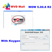 Newest Wurth WoW V5.00.8 R2 With Keygen + Install Guide Video + 10 Languages For Universal Petrol & Diesel Cars Up to 2016 Year