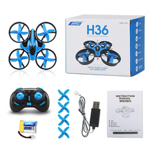 JJRC H36 Mini Drone 4CH 6 Axis Gyro RC Quadcopter with Headless Mode/Speed Switch One Key Return Function RTF LED Light Dron