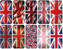 Wholesale UK British Flag Plastic Hard Cell Phone Cover For iphone 4S 5 5S SE 5C 6 6S 7 Plus For iPod Touch 4 5 6 Mobile Case