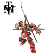 Gaogao 1/100 True dynasty warriors Gundam Shin Musha model Puzzle assembled Robot boy Anime toy gift Arts Furnishing articles