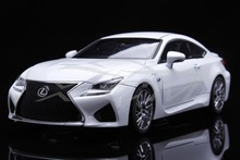 Diecast Car Model Lexus RCF 1:18 (White) + SMALL GIFT!!!!!