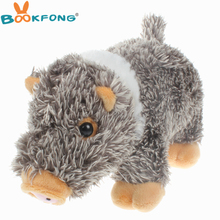 BOOKFONG 25cm Stuffed Plush Wild Boar Plush Cute Stuffed Animals Kids Soft Toys for Children Birthday Gift