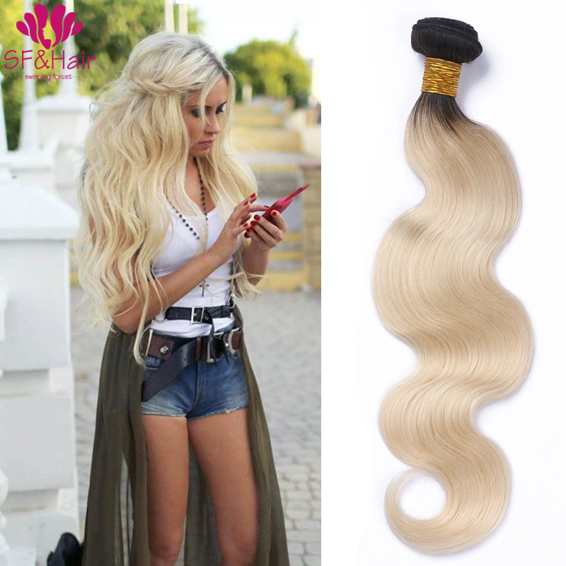 New Arrivals 1B 613 Ombre Blonde Virgin Hair Peruvian Body Wave Human Hair 4 Bundles Queen Hair Products Ombre Body Wave Weaves<br><br>Aliexpress