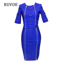 Pink Women Sequined Dress Beads Vestido De Festa Sexy Club Night Dress Lady Slim Evening Party Knee Length Bandage Dres B-384(China)