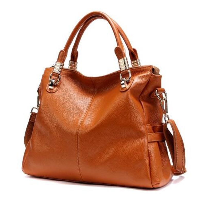 New Arrival Genuine Leather Handbag Ladies Cow Leather Shoulder Bags Women Real Leather Bags Female Multi Function Messenger Bag