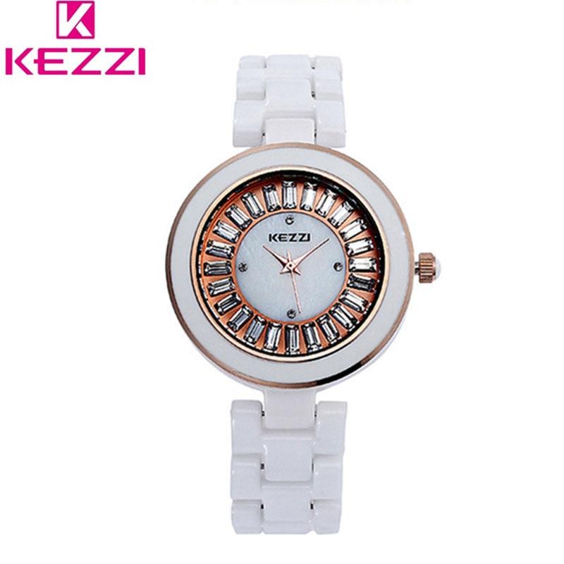KEZZI New fashion Famous Brand Watch  Women Ceramic  Quartz Casual luxury Watch Relogio Feminino 30M Waterproof Montre femme<br><br>Aliexpress
