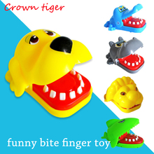Crocodile Jokes Mouth Dentist Bite Finger Game Joke Fun Funny Crocodile Toy Antistress Gift Kids Child Family Prank novelty gags(China)