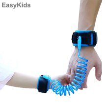 Toddler Baby Kids Safety Harness Child Leash Anti Lost Wrist Link Traction Rope Elastic harness Strap Toys Outdoor Sports Game(China)
