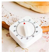 New Nice 60 Mins White Novelty Mechanical Wind-Up Cooking Count Up Timer Reminder Counter Alarm Kitchen 1 Pc(China)
