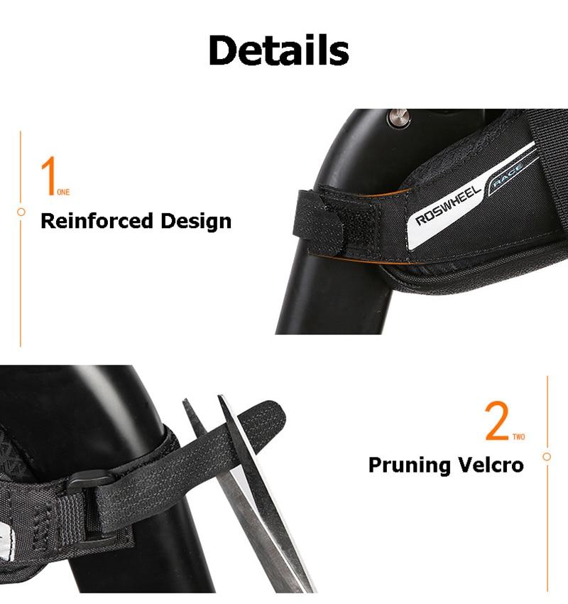 Bicycle Saddle Bag Tear Resistant Rainproof Cycling Rear Seat Bags MTB Road Bike Tail Repair Tools Pouch Bike Accessories BG0090 (6)