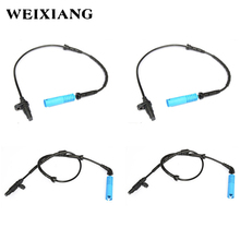 4PCS Front Rear Left Right ABS Wheel Speed Sensor for BMW X5 E53 3.0i 4.4i 4.6is 2000-2006 34526756379 34526756380(China)