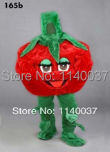 mascot Tomato mascot costume custom color costume cosplay Cartoon Character carnival costume fancy Costume party(China)