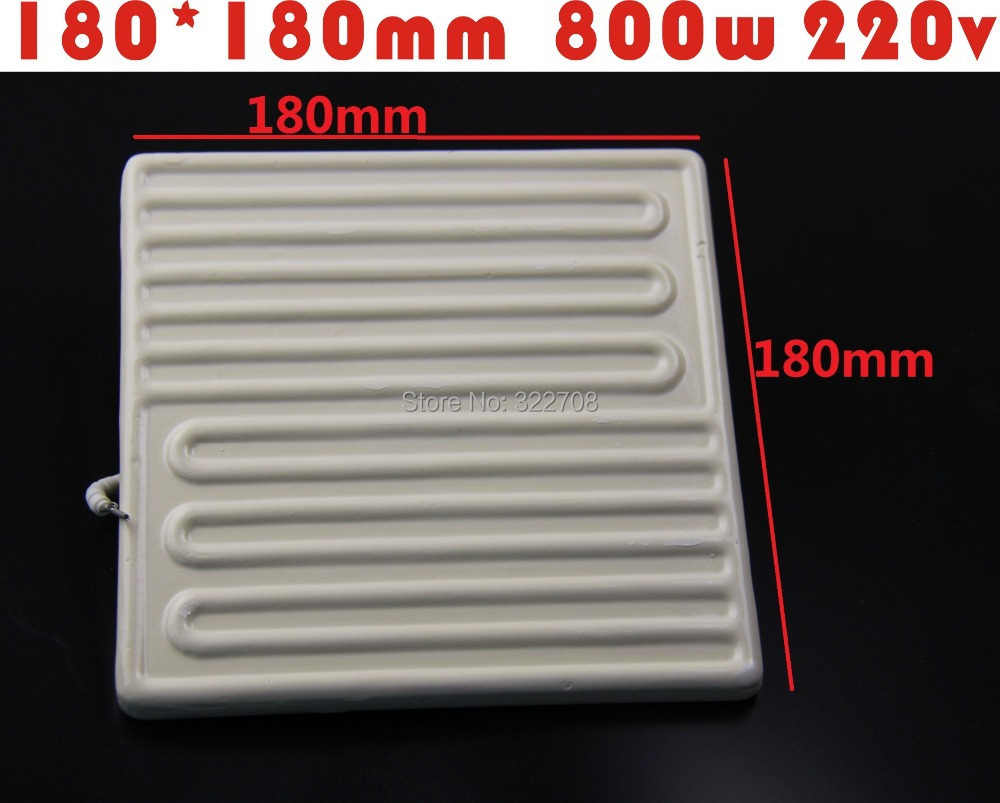 Factory shipping heating plate far infrared ceramic heating brick BGA rework station dedicated 180*180MM 800W IR-9000 6000 6500<br>