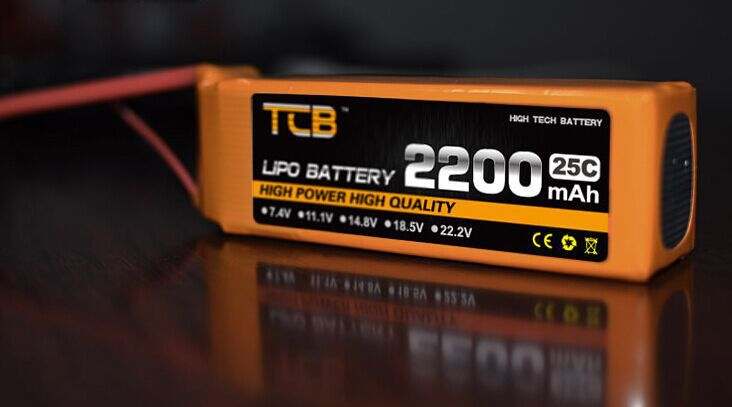 TCB 11.1V 2200 25C 3S lipo battery for rc battery free shipping<br><br>Aliexpress