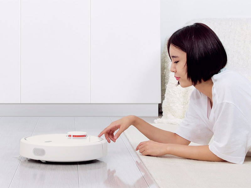 Original XIAOMI MI Robot Vacuum Cleaner for Home Automatic Sweeping Dust Sterilize Smart Planned Mobile App Remote Control