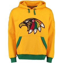 Black Hawks Logo Picture Style Hoodies New Stitching Jersey Customize Blackhawks Team Player Name And Number Sweatshirt Pullover(China)