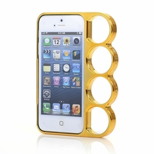 Lord Of The Rings brass knuckles hard side rim cover case for iPhone 4 4s 5 5S SE 5SE