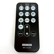 ORIGINAL FOR Sony Clock Radio Remote Control RMT-CCD3iPA RMTCCD3IPA TESTED Fernbedienung(China)