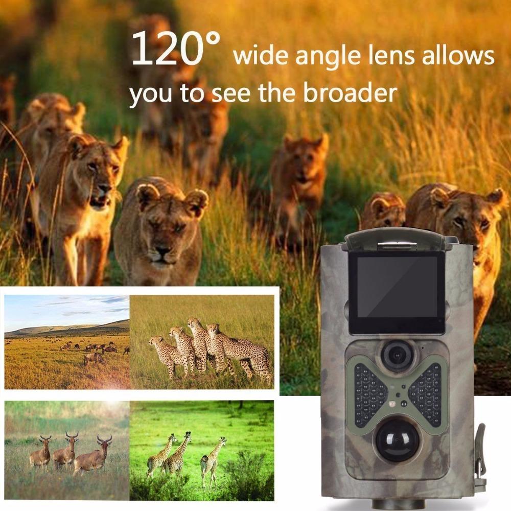 HC-550A Scouting Hunting Camera HC550A HD 1080P 16MP 120 Degree Photo Trap Wildlife Game Trail Camera