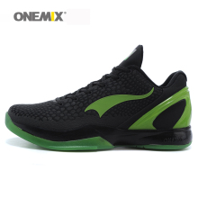 onemix men's sport sneakers basketball shoes waterproof males athletic Shoes lightweight durable outsole for outdoor walking