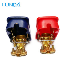 LUNDA Car Battery Terminals Connector Clamps Quick Release Lift Off Positive & Negative(China)