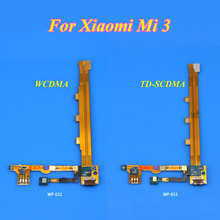 1PCS for Xiaomi Mi3 Mi 3 M3 Replacement Parts USB Dock Charging Port + Mic Microphone Module Board Ribbon Flex Cable