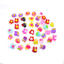 New 100pcs Dog Grooming Accessories Quartz Style pet hair bows Rubber bands dog hair accessories pet shop dog acessories(China)