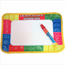 2017 New Water Drawing Magic Doodle Mat Board Pen Kids Boy Girl Drawing Toys Mat Magic Pen Educational Toy