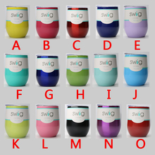 10pcs / LOTS 304 Swig Cups Powder Coated Stainless Steel Beer Wine Glass 9oz 15 Colors Egg Shaped Cup Drinkware Mugs With Lid