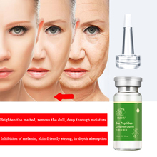 QYF Argireline+aloe vera+collagen peptides rejuvenation anti wrinkle Serum for the face skin care products anti-aging cream