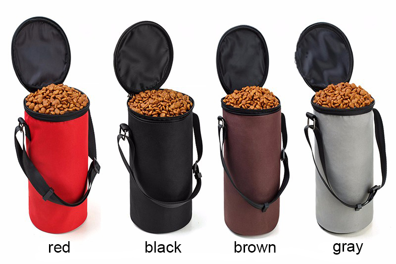 Foldable Dog Food Storage Bags - No Need For Dog Food Storage Tin