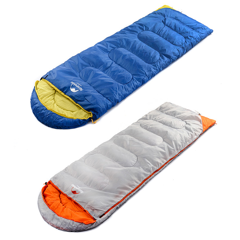 Hot Sale Ultralight Camping Sleeping Bag Adult Tents Cotton Filler Envelope Outdoor Warm Spring Autumn Hiking Camping Bags New<br>