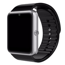 GT08 Smart Watch Bluetooth 3.0 Sim Card Slot Push Message Bluetooth Connectivity NFC for iPhone Android Phoones Smartwatch