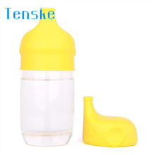 TENSKE Lids Safety For Kids Silicone Sippy Lids - Make Most Cups a Sippy Cup Leak Proof U70427 DROP SHIP(China)
