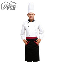 Half Waist Chef Apron Black Red With 2 Pocket Waist Aprons Kitchen Cook Sleeveless Cotton Apron Antifouling Wear Restaurant Cafe
