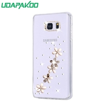 HOT 3D Luxury Bling Crystal Diamond Hard DIY Case for Samsung Galaxy Premier i9260 i9268/J2 Prime/A8 2016/Core 2 G355H G3559/A9(China)