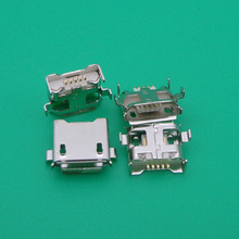 free shiping 100pcs/lot Micro 5pin USB connector repair parts for HP SLATE 7 2800 tablet(China)