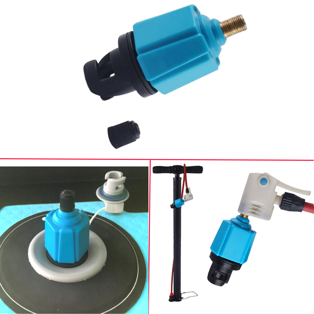 Inflatable Boat Air Valve Adapter  for SUP Pump Converter Inflator Accessories