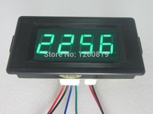 DC 24 12V 4 Digital Green LED Counter Panel Meter Plus Up and Minus Down 0-9999