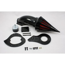Motorcycle Accessories SPIKE AIR CLEANER FILTER KIT FILTER INTAKE FOR HONDA SHADOW VLX 600 VT600 CRUISER BLACK