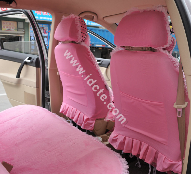 Flower-Print-Lace-Car-Seat-Covers-for-Women-Universal-Short-Plush-Winter-Auto-Seat-Covers-Sets-Interior-Accessories-3