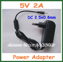 10pcs 5V 2A EU US Charger Power Adapter for iWork8 3G Q88 Flytouch 3 6 Ainol Myth Yuandao N70 N70HD N12 U35GT2 U25GT U39GT
