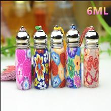 6ml Top Grade Glass Refillable Perfume Roll On Bottles New Style Parfume Essence Oil Eye Gel Pack Containers Free Shipping